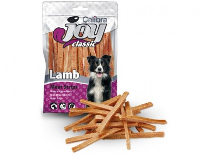 CALIBRA Joy Dog Classic Lamb Strips masový pamlsek 80 g NEW