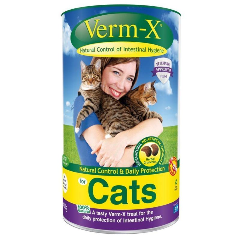 Verm-X Cats tablety 60 g