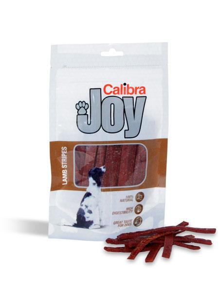 CALIBRA Dog Joy Lamb Stripes masový pamlsek 80g